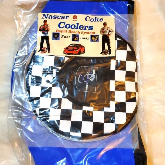 Blue Nascar Cooler